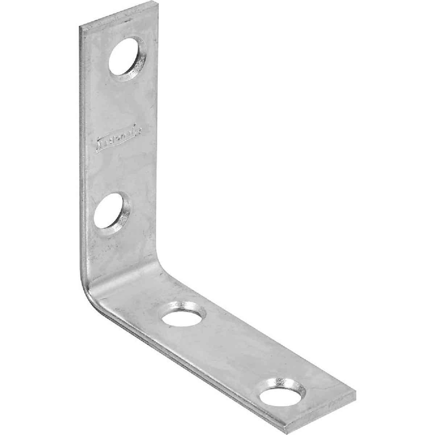 National Catalog 115 2 In. x 5/8 In. Zinc Corner Brace Image 1