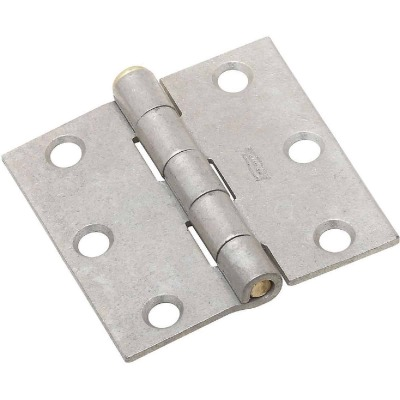 National 2-1/2 In. Galvanized Removable Pin Broad Hinge