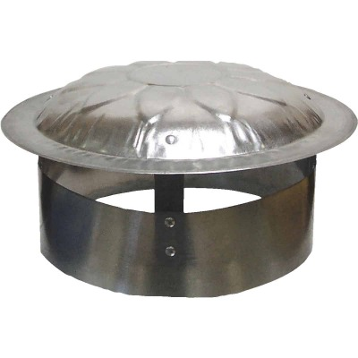 S & K Galvanized Steel 9 In. x 12 In. Vent Pipe Cap