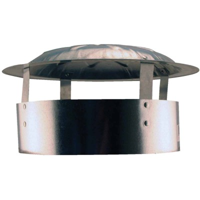 S & K Galvanized Steel 10 In. x 13 In. Vent Pipe Cap