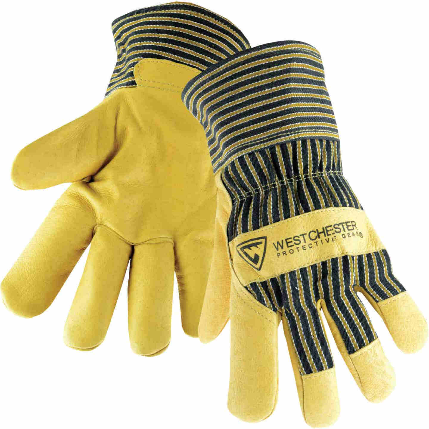 West Chester Protective Gear Men's XL Grain Pigskin Leather Work Glove Image 1