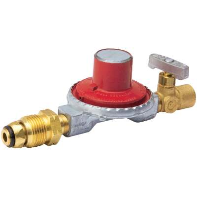B&K 1/4 In. x 1/4 In. High Pressure Liquid Propane Gas Regulator